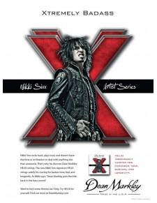 Helix HD 50-110 Nikki Six basszus húrszett