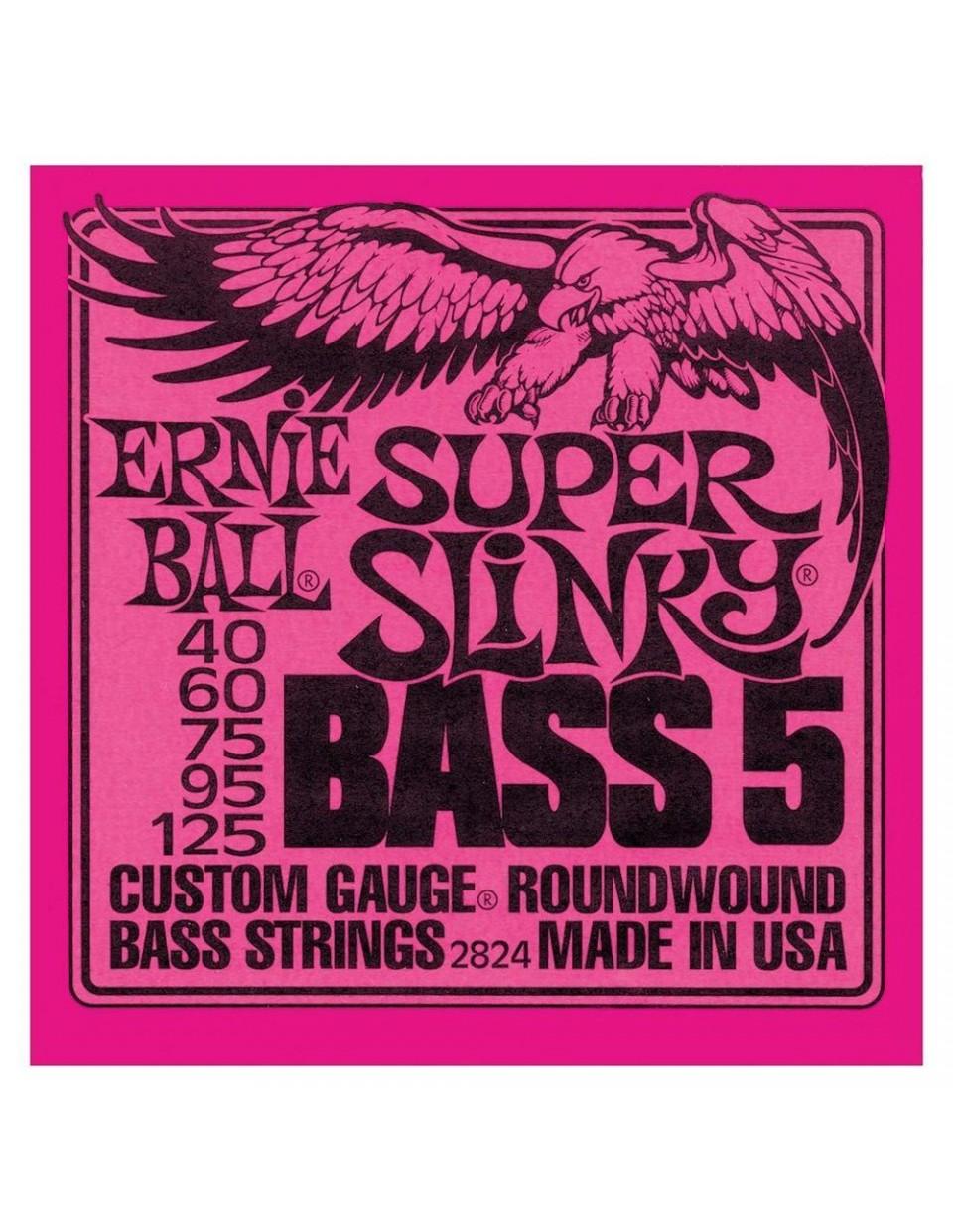 Super Slinky 5-húros basszus szett