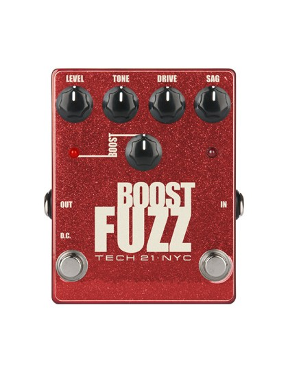 Tech21 Boost Fuzz Metallic gitár pedál