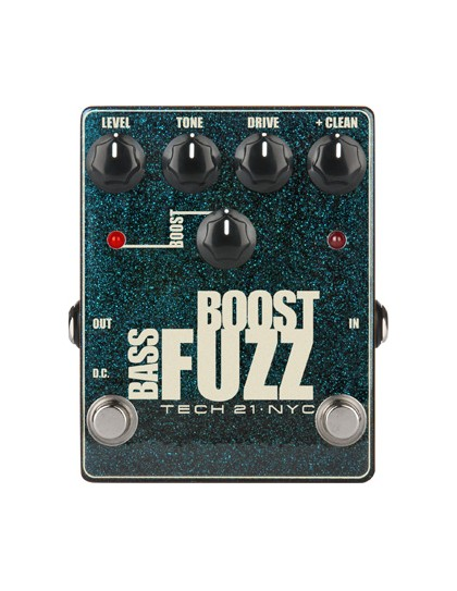 Tech21 Boost Fuzz Bass Metallic pedál