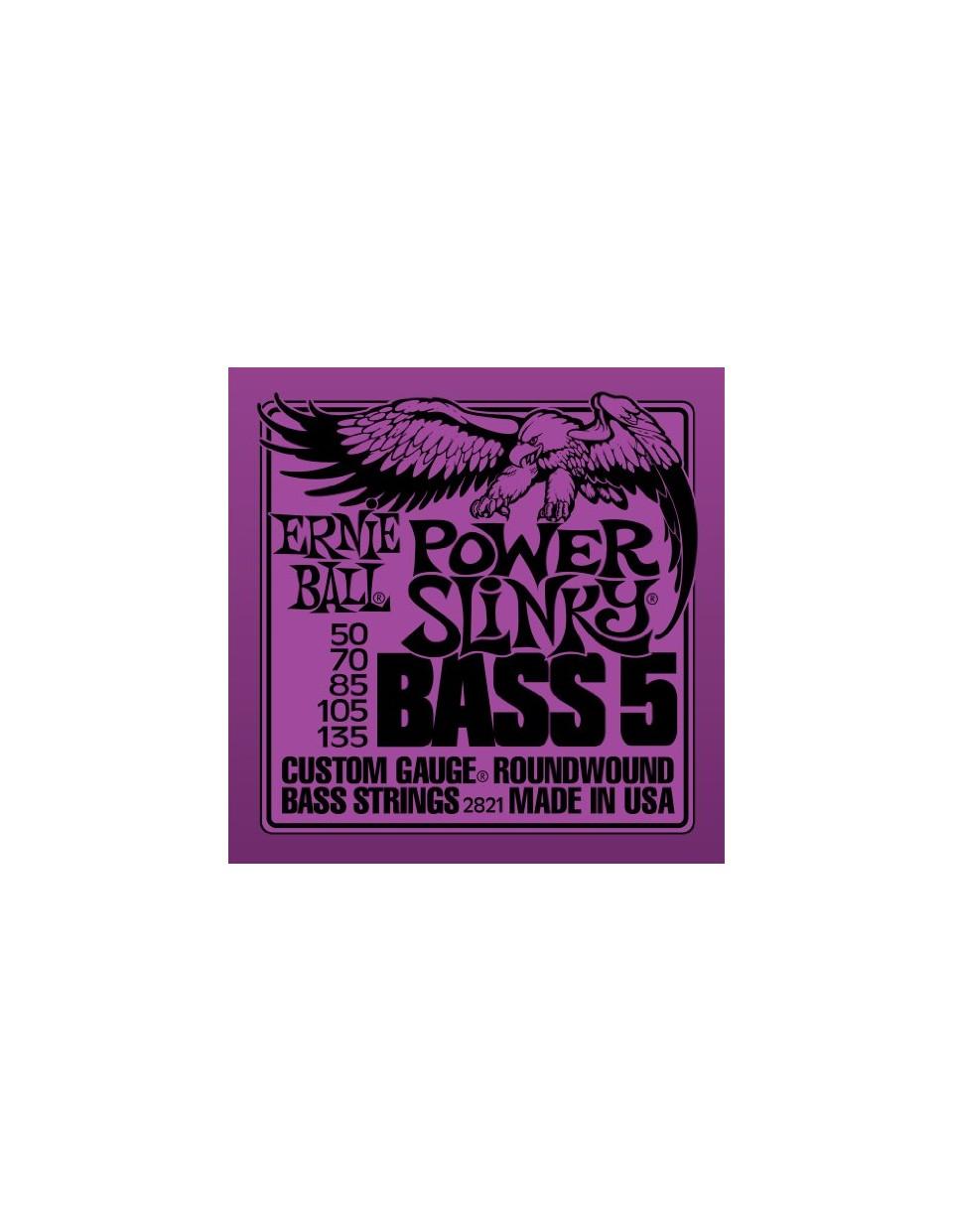 Power Slinky 5-húros basszus szett
