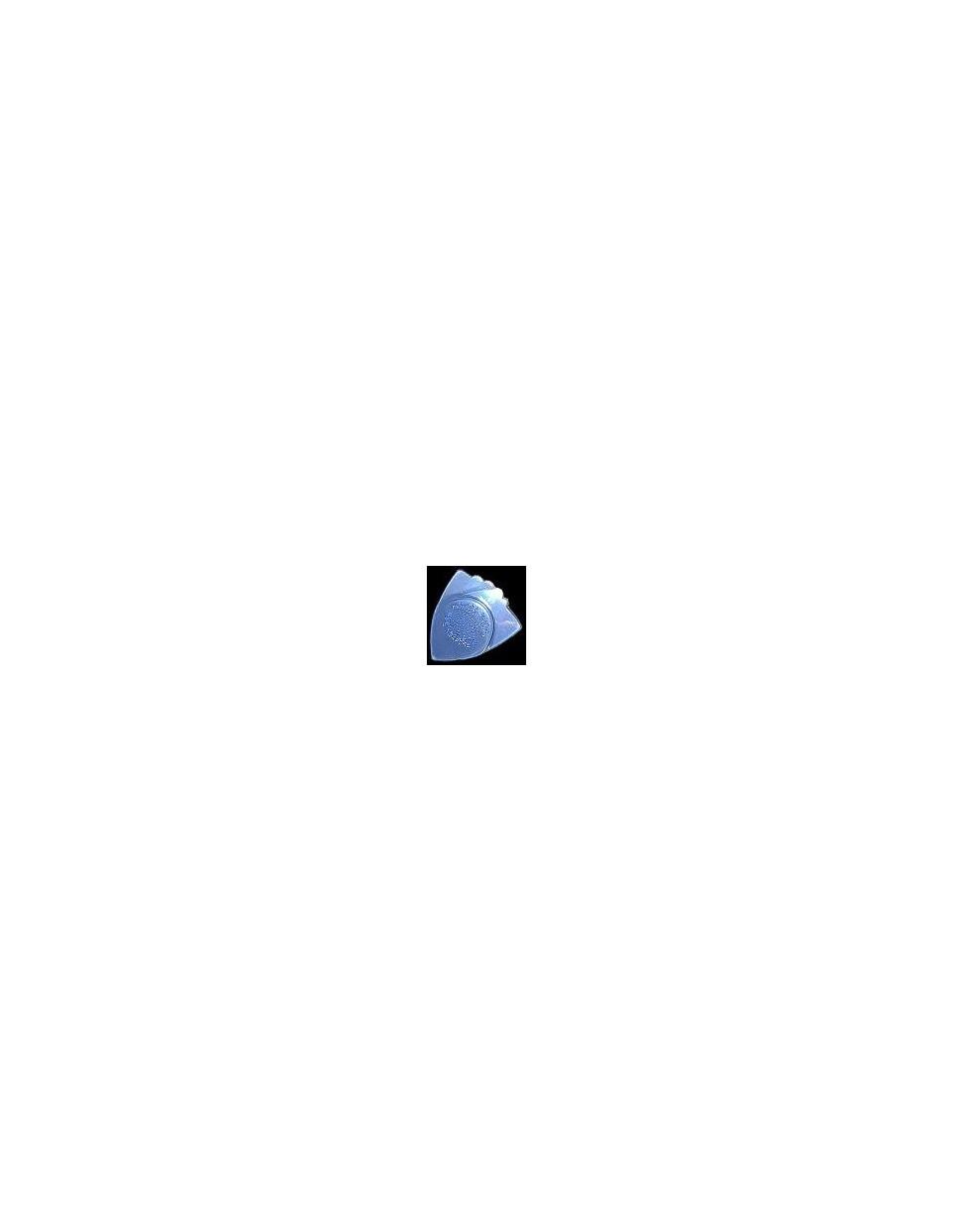 Awe-In-One Rock Licks clear blue pengető