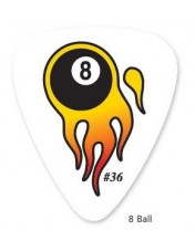 GA Flaming 8-ball pengető