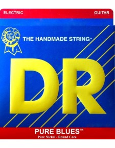 DR Strings PURE-BLUES Pure Nickel 10 gitárhúr