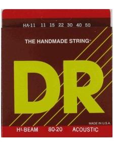 DR Strings HI-BEAM 11 akusztikus húrszett