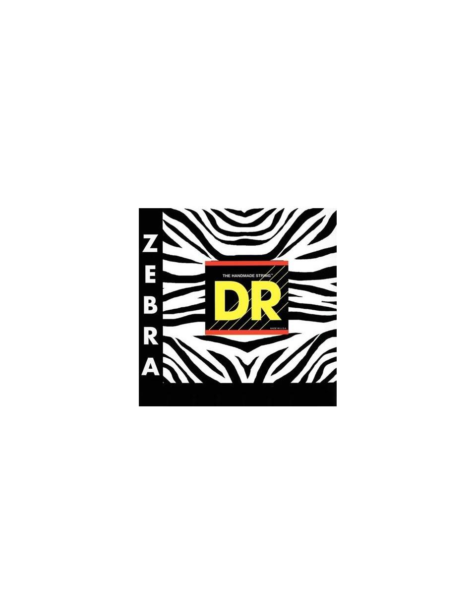 DR Strings ZEBRA 9 húrszett elektroakusztikus gitárhoz
