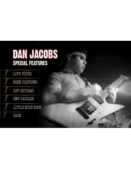 Behind the player DVD: Dan Jacobs