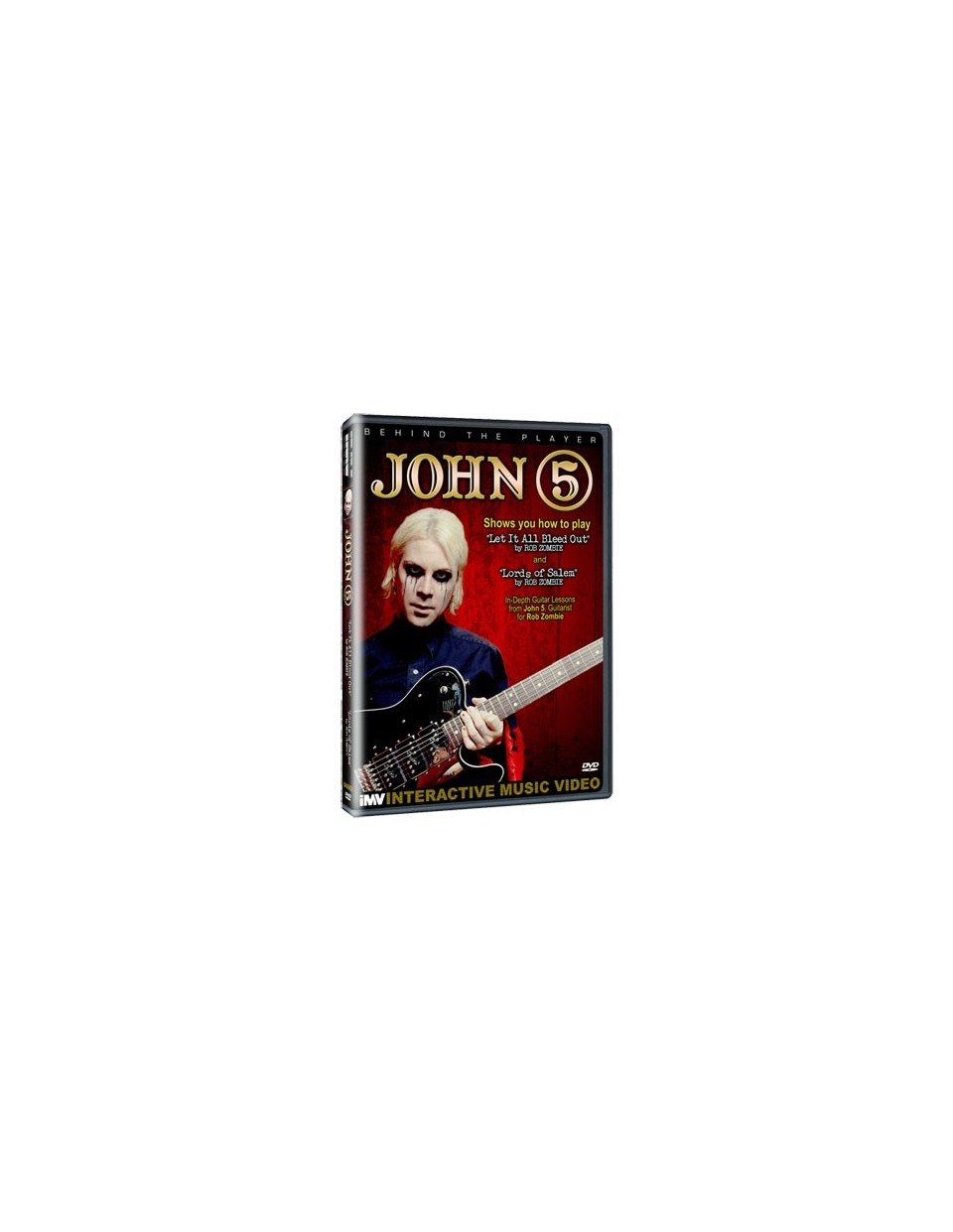 Behind the player DVD: John 5
