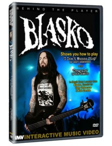 Behind the player DVD: Blasko