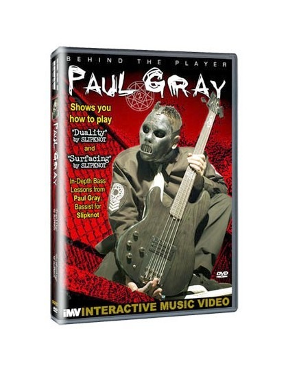 Behind the player DVD: Paul Grey