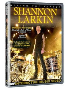 Behind the player DVD: Shannon Larkin