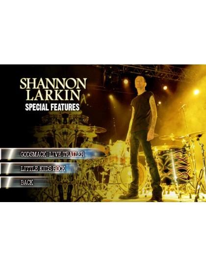 Behind the player DVD: Shannon Larkin