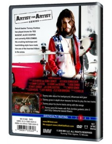Behind the player DVD: Tommy Clufetos
