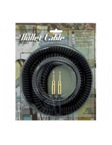 Core One Bullet Coiled Cable black 7,6m