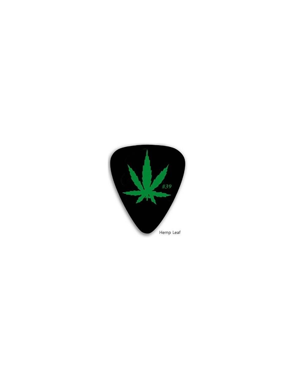 GA Hemp Leaf pengető