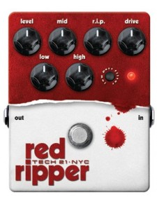 Tech21 Red Ripper Bass torzítópedál
