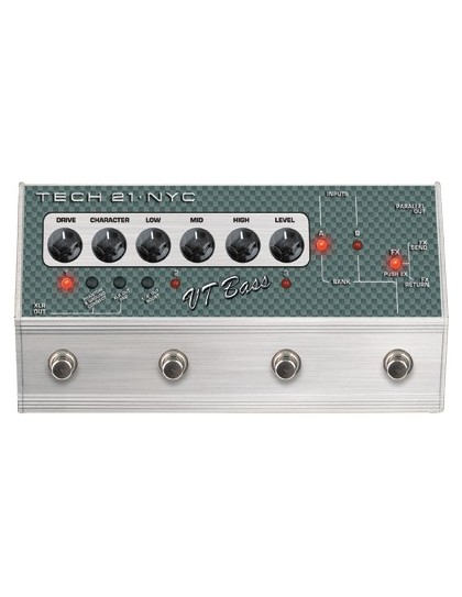Tech21 SansAmp VT Bass Deluxe pedál