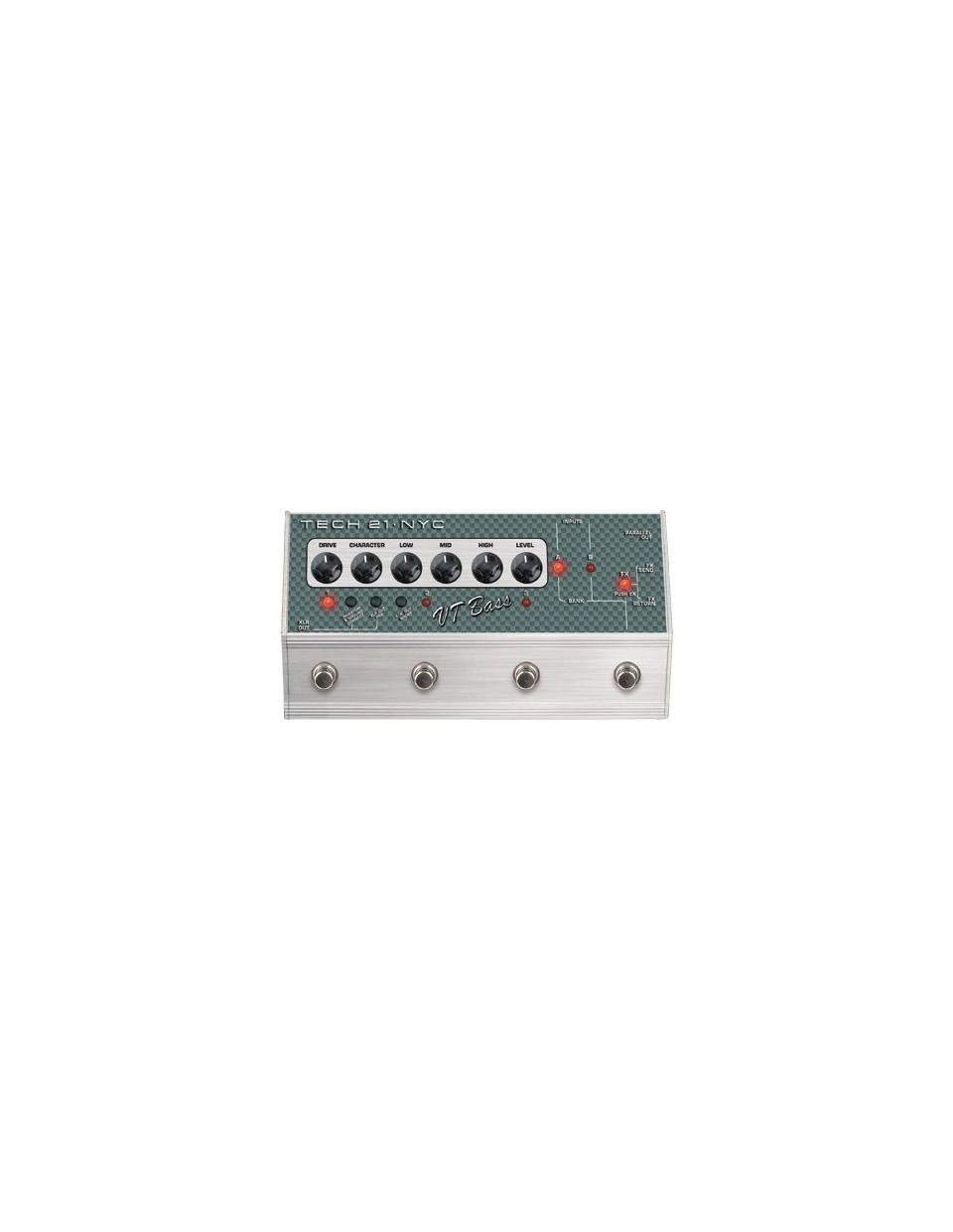 Tech21 SansAmp VT Bass Deluxe pedál