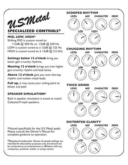 Tech21 SansAmp Character U.S. Steel pedál