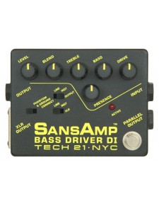 Tech21 SansAmp Bass Driver D.I. pedál