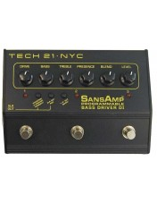 Tech21 SansAmp Bass Driver D.I. Programmable pedál