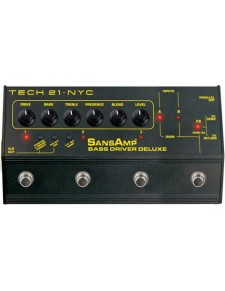 Tech21 SansAmp Bass Driver D.I. Deluxe pedál