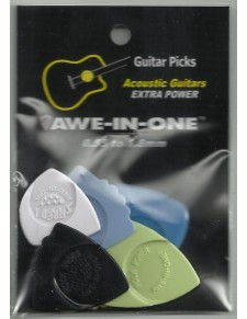 Awe-In-One Acoustic Extra Power Selection (6 pengető)