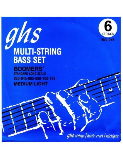 Medium Light BOOMERS 6-húros basszus szett
