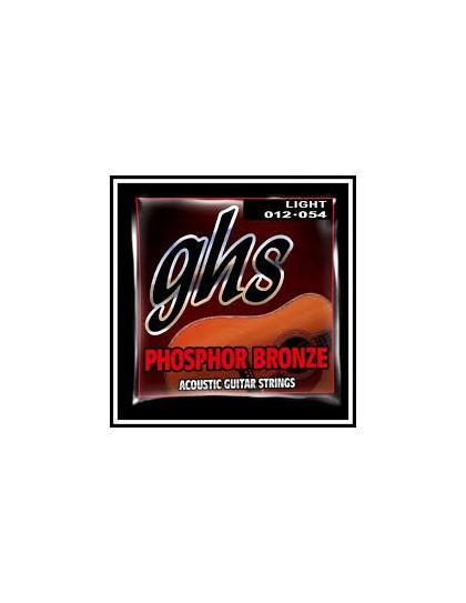 GHS Phosphor Bronze 12-54 akusztikus húrszett