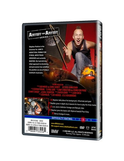 Behind the player DVD: Stephen Perkins