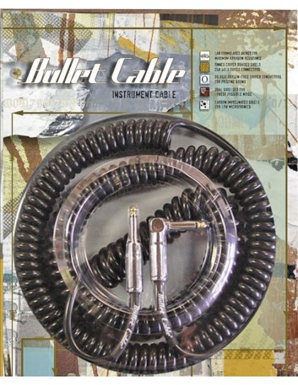 Core One Bullet Coiled Cable black 3m