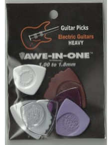 Awe-In-One Electric Guitars Heavy Selection (6 pengető)